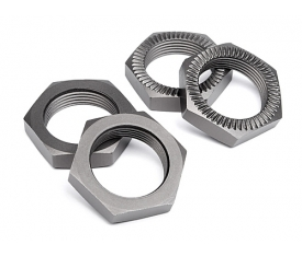 HPI102216 Wheel Nut 24Mm (Gunmetal/4Pcs