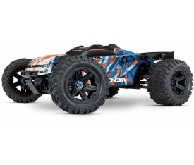 Traxxas E-Revo VXL 2.0 RTR 4WD Electric Monster Truck (Orange) - Ön Sipariş