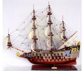 Sovereign Of The Seas Boyalı Montajlı Gemi-60cm