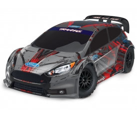 Traxxas Ford Fiesta ST RTR 1/10 4WD Rally Car TQ 2.4GHz Radio #74054-4